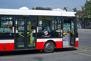 Prague Airport Bus