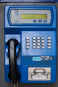 Telephone Card Pay Phone