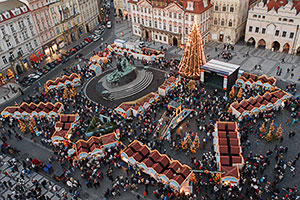 Christmas Market on Prague's Old Town Square