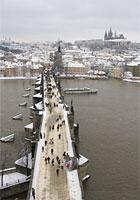 Charles Bridge in Winter