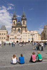 Old Town Square with Tyn Church