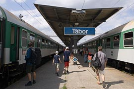 Tábor Train Station