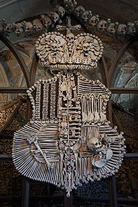 Sedlec Ossuary Schwarzenberg Coat-of-Arms