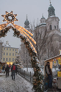 Old Town Square at Christmas