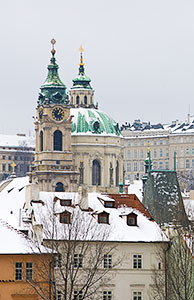 St. Nicholas Church under Snow